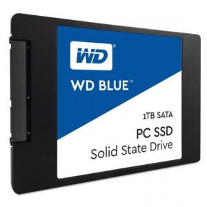 "SSD 2,5"" 1TB - 545/525MBps - SATA 6Gbps - Western Digital Blue PC SSD 7mm"