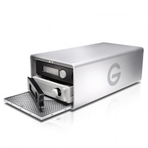 G-Raid Removable 20TB (2x10TB) 7200rpm - Thunderbolt 3 / USB-C / HDMI - hasta 500MBps