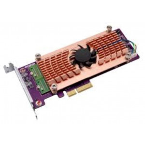Tarjeta de extension Dual M.2 22110/2280 PCIe SSD (PCIe Gen2 x 4) + 1 port 10GBASE-T, Low-profile bracket