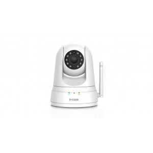Camara mydlink HD Wireless N motorizado dia/noche - Detector PIR - Audio - 1 port LAN 10/100Mbps