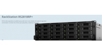Synology anuncia los Rack RS2818+/RP+
