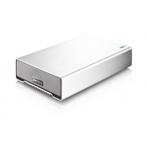 "AKiTiO Single Bay (1 x HDD 3,5"") - interface USB3.00 - Cable USB inclu"