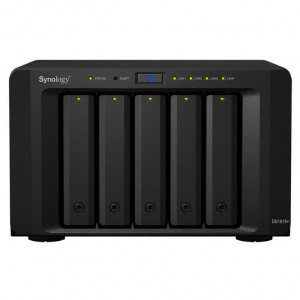 NAS Synology Torre DS1517+ (2GB) 30TB (5 x 6TB) Discos Ironwolf Pro