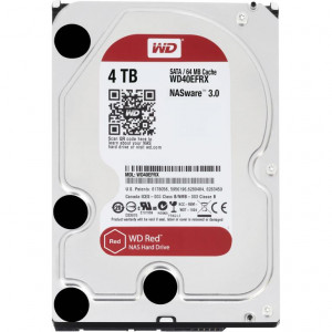"Disco duro - 3,5"" 4Tb - IntelliPower - SATA 6Gbps 64mb - WD Red"