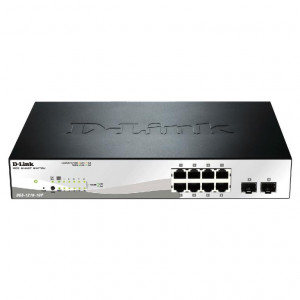 Dlink Switch 10 puertos 10/100/1000 dont 8 POE