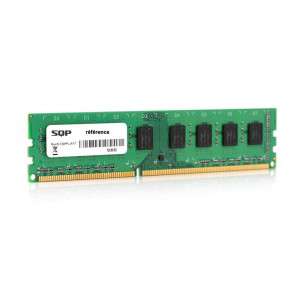 Memoria SQP específica 1 Gb - DDR3 - Dimm - 1333 MHz - PC3-10600 - Unbuffered - 1R8 - 1.5V - CL9