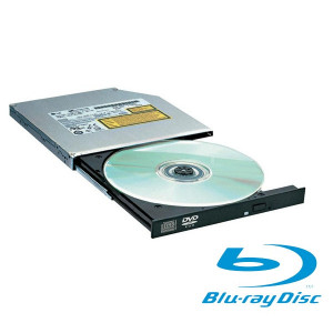 Grabador BluRay interno SATA Slim - negro