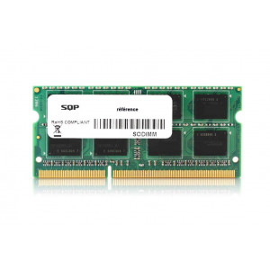 Memoria SQP específica 2 Gb - DDR3 - Sodimm - 1333 MHz - PC3-10600 - Unbuffered - 2R8 - 1.5V - CL9