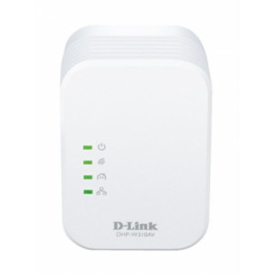 mini adaptador plc homeplug av 500mbps WIFI