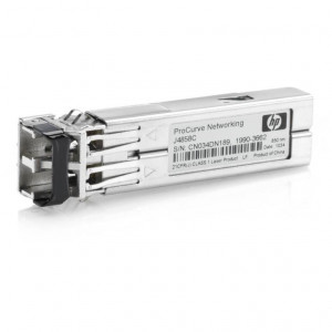 HP X121 1G SFP LC SX Transceiver - Garantía HP - New Retail
