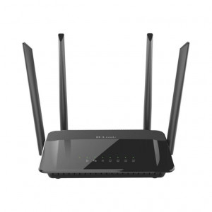 Router Wireless AC1200 Dual Band Gigabit - antenas externos - 802.11ac 5GHz 867Mbps max