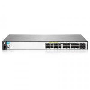 Switch administrable - 24 puertos Gigabit administrable nivel 2 + 4 puertos combo SFP PoE+