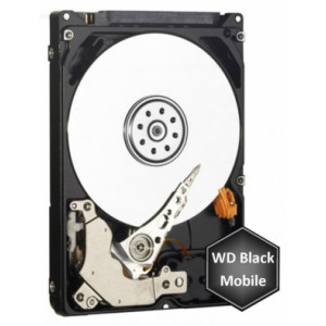 "Disco duro - 2,5"" 1TB - 7200rpm - SATA 6Gbps - 32MB - WD Mobile Black 9,5mm"