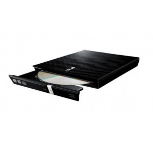Grabador DVD  ASUS externo USB - Compatible Mac / PC - negro