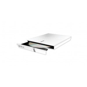 Grabador DVD  ASUS externo USB - Compatible Mac / PC - Blanco