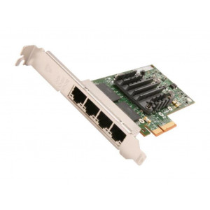 tarjeta Gigabit Ethernet - Intel I340-T4 - PCI Express x4 - 4 Port(s) - 4 x red (RJ45)
