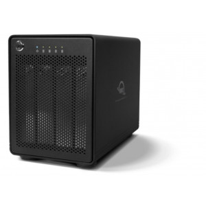 OWC ThunderBay4 - 40TB (4x10TB) - No RAID - 2 interfaces Thunderbolt2 - integración IDATA - Sistema de Backup Pro Mac/PC - 2 años Garantía
