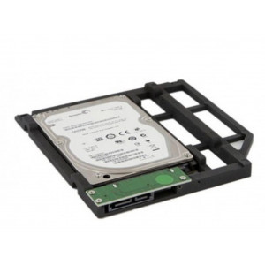 "LMP optical bay hard drive/SSD doubler para apple macbook /,macbook pro ""unibody"""