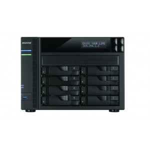ASUSTOR NAS AS6208T 8 bahías 4Gbe - 1.6GHz Quad Core (burst up to 2.24 GHz)