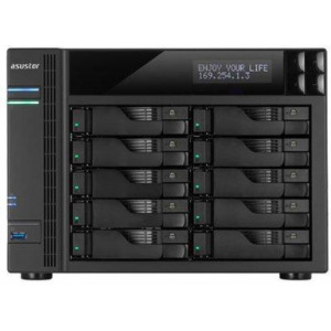 ASUSTOR NAS AS6210T 10 bahías 4gbe - 1.6GHz Quad Core (burst up to 2.24 GHz)