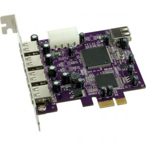 Sonnet Allegro USB PCIe Card (4 external + 1 internal port)