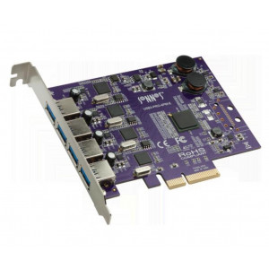 Sonnet Allegro USB 3.0 PCIe Card (4 puertos Macintosh/Windows)