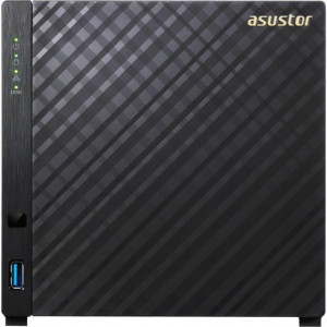 asustor 4 bahías NAS, Marvell ARMADA-385 Dual Core, 5 - GbE x1, USB 3.0, WoL, System Sleep Mode