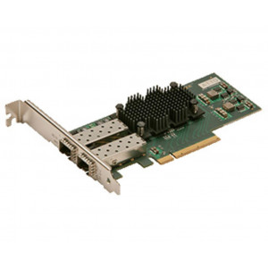 FastFrame Dual Channel x8 PCIe Gen2.0 10GbE w/O SPF+ Interface (low-profile)