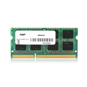 Memoria SQP específica 4 Gb - DDR4 - Sodimm - 2400 MHz - PC4-19200 - Unbuffered - 1R8 - 1.2V - CL17