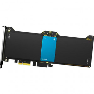 Wings X2 - HBA - Wings X2 PCIe Gen2 x2 Hardware RAID Adapter (Blue)