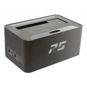 Highpoint RocketStor 5411D - Dock SATA 6Gb/s - multi-interfaces: 1 x USB 3.0 vers 2 x USB 3.0, 1 x Ehernet, 1 x slot SD, audio IN/OUT