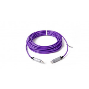 LMP Thunderbolt Optical Cable, compatible TB2 20Gbps purple 10 metros