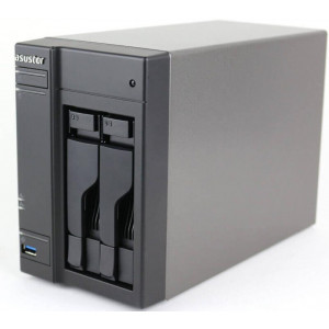 "ASUSTOR NAS AS6302T 2 bahías 2,5/3,5"" Intel Apollo Lake  Dual-Core2.0 GHz up to 2.5GHz USB-C"
