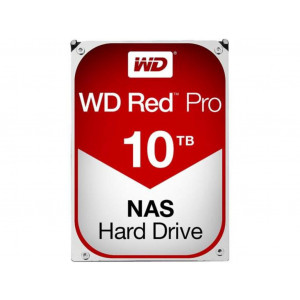 "Disco duro - 3,5"" 10TB - 7200rpm - SATA 6Gbps - 128MB - WD Red Pro"