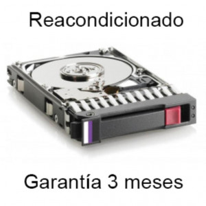 "Disco duro - 2,5"" 450GB - 10Krpm - SAS 6Gbps - Original HP - Garantia Carepack HP - Reacondicionad"