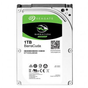 "Disco duro - 2,5"" 1TB - 5400rpm - SATA 6Gbps - 128MB - Seagate Barracuda 7mm"
