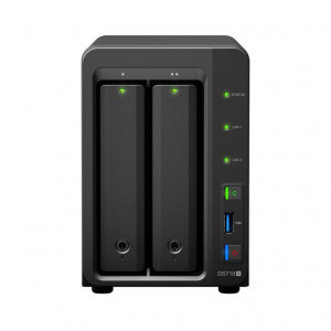 NAS Synology Torre DS718+ II chasis para 2 HDD