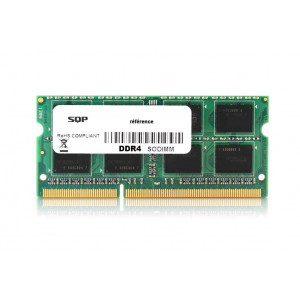 Memoria SQP especifica para Intel - 4 Gb - DDR4 - Sodimm - 2400 MHz - PC4-19200 - Unbuffered - 1R16 - 1.2V - CL17