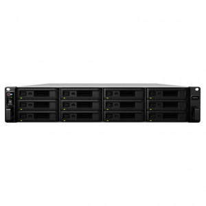 NAS Synology Rack (2 U) RS3618XS Chasis para 12 HDD- alimentación simple