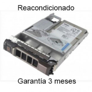 "Disco duro - 2,5"" 600GB-10Krpm - SAS 3Gbps - Original Dell - Reacondicionado"