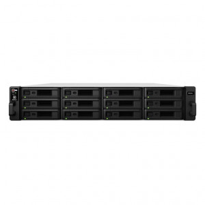 NAS Synology Rack (2 U) RS2418+ Chasis para 12 HDD