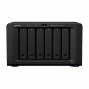 NAS Synology Torre DS1618+ chasis 6 bahías discos SATA 2,5/3,5