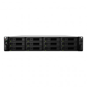 NAS Synology Rack (2U) RS3617xs+ 72TB (12 x 6TB) RED Pro