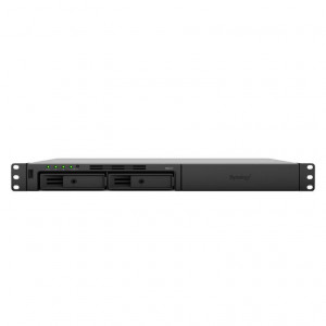 NAS Synology Rack (1 U) RS217 16TB (2 x 8 TB) Disco Ironwolf