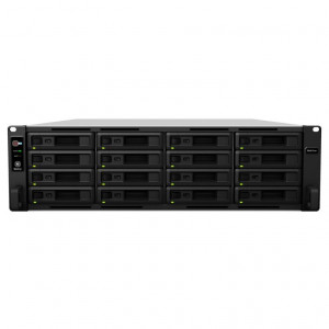 NAS Synology Rack (2 U) SY-RS2818RP+ 160TB (16 x 10 TB) Disco RED PRO