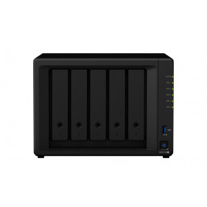 NAS montado Synology torre DS1019+ 5TB (5x1TB)  con discos WD RED