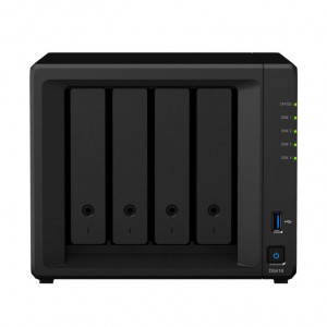 NAS Synology Torre DS418 4TB (4 x 1TB) Disco IronWolf