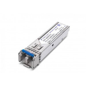Finisar 1GbE LR, 1Gb FC singlemode SFP Transceiver, 1000BASE-LX, 3.3V, 1310nm Fabry-Perot, -40°C to 85°C, Duplex LC connector, 10km